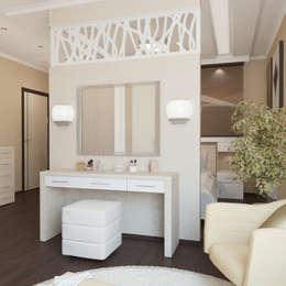 غرفة نوم تنفيذ Первое Дизайн-Бюро