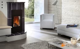 modern Living room by Freund  GmbH