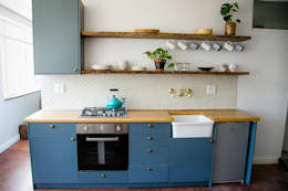 LITTLE MS DYNAMITE AND THE URBAN GEM: eclectic Kitchen by Lei Lester Design