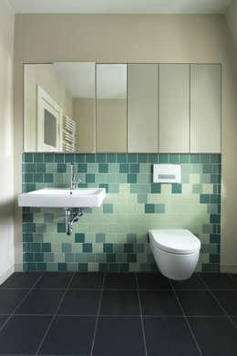 modern Bathroom by brandt+simon architekten
