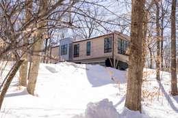 OXBOW LANE: modern Houses by JMKA architects