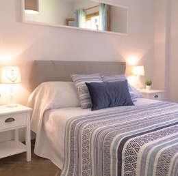 Home Staging en vivienda de montaña: Dormitorios de estilo rural de Noelia Villalba