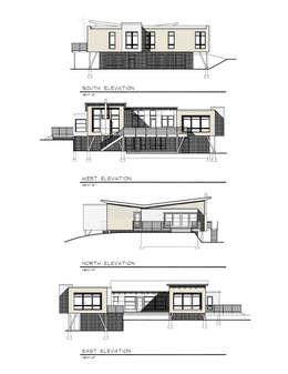 ELEVATIONS:   by JMKA architects