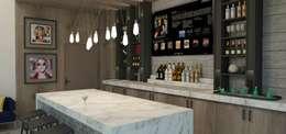 Cocinas de estilo moderno por TAMEN arquitectura