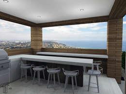 بلكونة أو شرفة تنفيذ TAMEN arquitectura