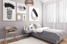Cuartos de estilo moderno por Ammar Bako design studio