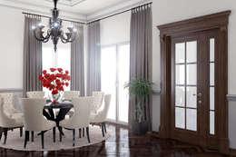 modern Living room by Ammar Bako design studio