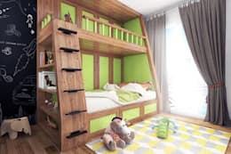 Boy's bedroom - Istanbul - Turkey 2015: modern Nursery/kid's room by Ammar Bako design studio