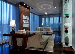 Гостиная в . Автор – Douglas Design Studio