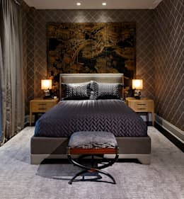 Bedroom: classic Bedroom by Douglas Design Studio
