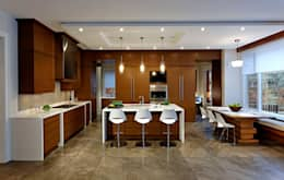 Kitchen: modern Kitchen by Douglas Design Studio