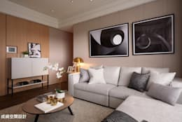 modern Living room by 成綺空間設計