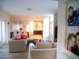 mediterranean Living room by SOJE Interior, Design and Decor PTY (Ltd)