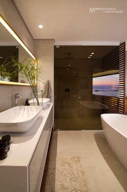 modern Bathroom by Make Architects + Interior Studio