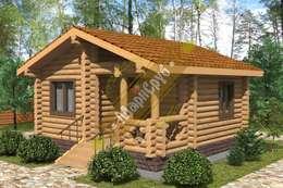"""Одноэтажный дом с крыльцом """"Солнечный"""": Дома в . Автор – Марисруб"""