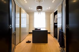 modern Dressing room by innen_architekten BALS + WIRTH