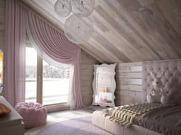 minimalistic Nursery/kid's room by премиум интериум