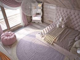 Dormitorios infantiles de estilo minimalista por премиум интериум