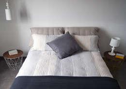 غرفة نوم تنفيذ SPAZIODABITARE architects