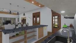 Cocinas de estilo  por ARBOL Arquitectos