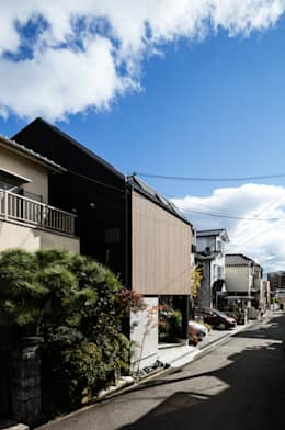 ファサード: 藤森大作建築設計事務所が手掛けた家です。