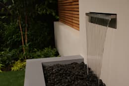 Jardins modernos por Hannah Collins Garden Design