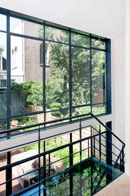 klassiek staal: industriële Huizen door Studio Kuin BNI