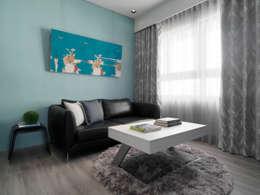 modern Living room by 樸暘室內裝修有限公司