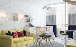 Dormitorios infantiles de estilo escandinavo por OM DESIGN