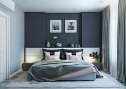 minimalistic Bedroom by OM DESIGN