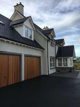 Casas de estilo moderno por Roundhouse Architecture Ltd