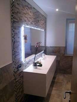 Illuminare il bagno 32 idee e soluzioni - Seresi arredo bagno camerano an ...