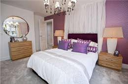 Dormitorios de estilo moderno de Graeme Fuller Design Ltd