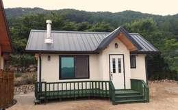 Casas de estilo moderno por 보국주택