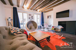 Salas / recibidores de estilo moderno por KAST design