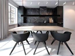 Cocinas de estilo minimalista por 365 Stopni
