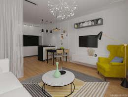 Ruang Keluarga by Sakharevich_interiors