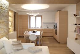 Cocinas de estilo moderno por GRITTI ROLLO | Stefano Gritti e Sofia Rollo