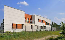 ARE HOUSE: styl nowoczesne, w kategorii Domy zaprojektowany przez BECZAK / BECZAK / ARCHITEKCI