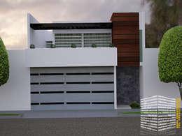 Casas de estilo minimalista por HHRG ARQUITECTOS