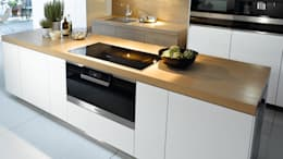 Miele H6890BP Oven: modern Kitchen by Hehku