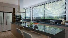 Presentamos nuestra nueva linea de Cocinas Nature!: Cocinas de estilo moderno por Escala Veinte