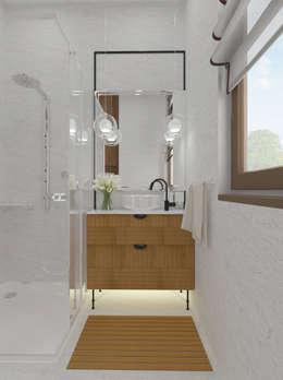 modern Bathroom by Open Village
