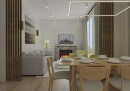 modern Living room by Open Village