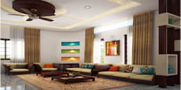 Magnificent: classic Living room by Premdas Krishna
