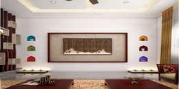 Magnificent: classic Living room by Premdas Krishna