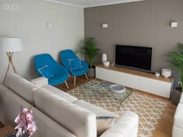 modern Living room by MUDA Home Design
