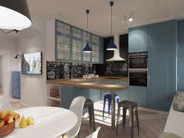 Cuisine de style de style Scandinave par AlexLadanova interior design