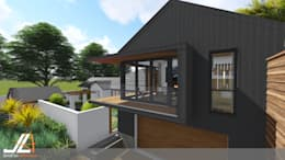 Craighall Park Residence: modern Houses by JLA - Jarrod Len Architecture