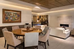 modern Dining room by Rousseau Arquitectos
